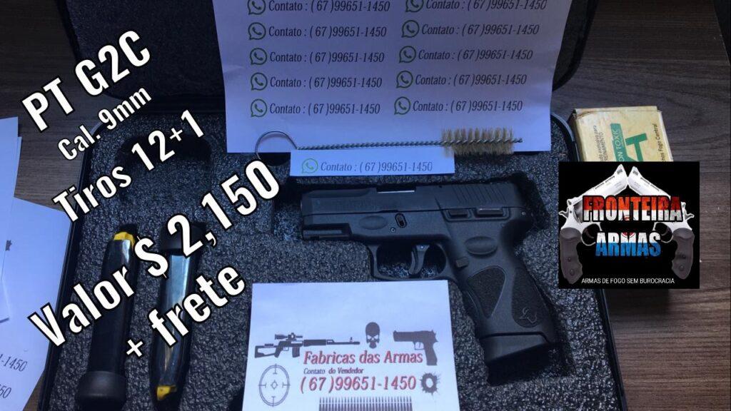 Comprar armas de fogo sem burocracia pela internet com ARMASFRONTEIRA.COM